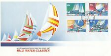(91900) New Zealand FDC Blue Water Classics - 2 February 1987