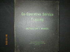 GM General Motors Of Canada Service Training Instructor`s Manual Original 1945