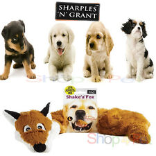 LARGE SHAKE 'a' FOX  50cm SQUEAKY FLOPPET PLUSH SOFT TOY with a squeaker inside