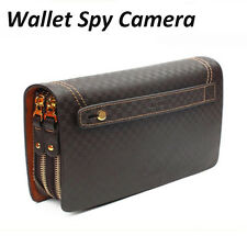 FULL HD 1080p HIDDEN SPY CAMERA DVR VIDEO/SOUND RECORDER IN HAND WALLET/MAN BAG