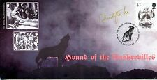Hound of the Baskervilles fdc 1997 SIGNED CERTIFIED Christopher Lee