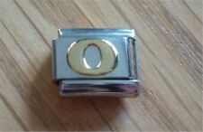 Italian Charms Charm - Gold Letters   Letter O