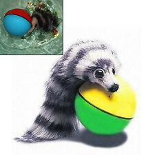 UP New Fashion Funny Alive Dog Cat Weasel Jumping Moving Rolling Pet Ball Toy J