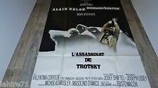 alain delon L'ASSASSINAT DE TROTSKY !  Joseph Losey  affiche cinema 1972