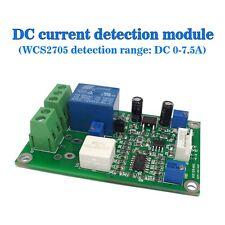 12V WCS2705 Current Detection Sensor Module DC 0-7.5A Overcurrent Protection