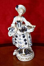 Antique German 'Uffrecht & Co' Porcelain Figurine (1845-1920)