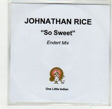 (FO977) Johnathan Rice, So Sweet - 2005 DJ CD