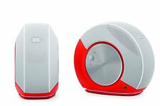 JBL Pebbles Plug And Play Stereo Computer Speakers By Harman USB DAC Orange