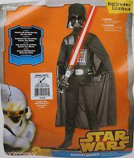 Halloween Star Wars Boys Darth Vader Child Costume Size Small 4-6 Ages 3-4 NIP
