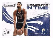 2009-10 Rookies & Stars Moments In Time Wilt Chamberlain