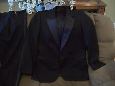 Men's Formal Tuxedo Prom Wedding Groom Suit one Button 44L made USA