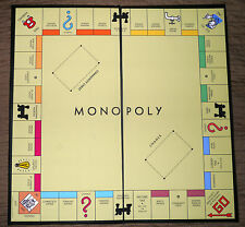 Darrow Black Box 1935 Style Reproduction Monopoly Game Board