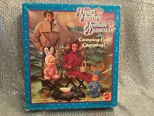 VINTAGE BARBIE HEART FAMILY DOLLS CAMPING FUN ACCESSORIES SET MATTEL 3146 NRFB
