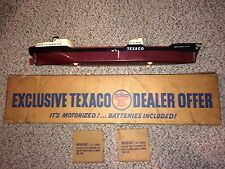 Vintage 1960's S.S. Texaco North Dakota Toy Tanker Ship Boat,Bat Op,Wen-Mac,Box