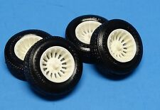 Resin A-Team Turbine Mags, w/Goodyear L60-15 Raised Letter Tires 1/25 Scale