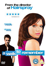 A WALK TO REMEMBER - DVD - REGION 2 UK