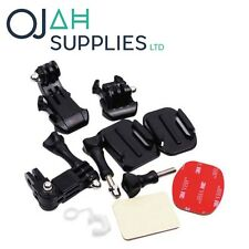 Afferrare Sacco di Mounts KIT PER GoPro Hero 2 3 3 + 4 Go Pro HD Accessori per Fotocamera ojah