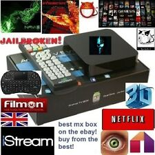 Android TV Box 2 Quad Core xbmc kodi SHOWBOX MOBDRO XXX SPORTS loaded