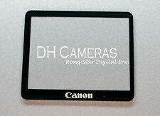 Canon EOS 1D / 1DS Mark III LCD Window outer Glass Screen Display +Tape adhesive