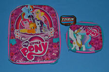 MY LITTLE PONY Backpack School Bag Tote Full Size Utility Box