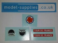 Corgi GS13 Renault Tour de France Paramount Waterslide Decal Set