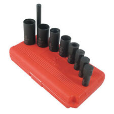 "Sunex Tools 1/2"" Drive 9 Piece Wheel Lock Removal Impact Socket Set - 2840"