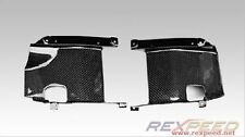 Carbon Fiber Front Bumper Intercooler Side Panels for Mitsubishi EVO X
