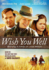 Wish You Well (DVD, 2015) Brand New Josh Lucas