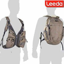 Leeda Volare Ruckvest Back Pack Fly Fishing Accessory Carrying Vest