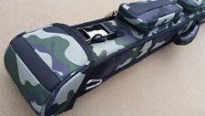 New Action 2x3 Camouflage Case, Army Green 'Camo', Carabiner Hook, Jump Sleeve