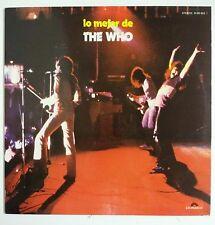 The Who Lo Mejor de Who Lp España original 1974