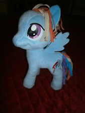 "MY LITTLE PONY RAINBOW DASH 11"" PLUSH HASBRO"