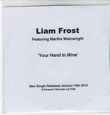 (BS31) Liam Frost ft Martha Wainwright, Your Hand In Mine - DJ CD