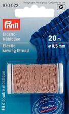 Prym Elastic - Nähfaden 20m sand Nähgarn elastisch umflochten  970022