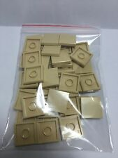 LEGO Lot de 50 Flat Tile 2x2  Brick-Yel Neuf Beige Plaque Lisse 4185177 (TAN ?)