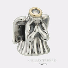 Authentic Pandora Sterling Silver & 14K Gold Divine Angel Bead 791770
