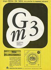 W0669 Montecatini Edison - Cartucce DEMIMAGNUM - Pubblicità 1968 - Advertising