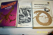 Anne Mccaffrey,Dragonriders of Pern,Novels,Short Stories First editions 19 books