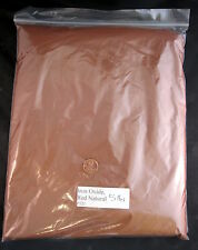 IRON OXIDE RED 521 -5 LB- Ceramic Grade Dry Materials for Glaze and Clay Chemist