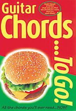 Guitar Chords To Go! Learn to Play Beginner Lesson Compact Music Book