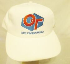 OHIO TRANSFORMER Vintage Mens Baseball Style Hat/Cap One Size Trucker OT Lineman
