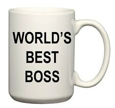"""""""World's Best Boss"""" Coffee Mug, as used by Michael Scott on The Office"""