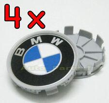 4 Cache Jante moyeux Centre de roue Boulon pour BMW - PLATS 68mm