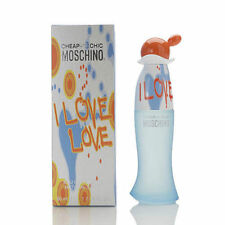 I Love Love Perfume By Moschino 1.7 oz / 50 ml EDT Spray NIB Authentic Sealed