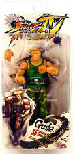 "STREET FIGHTER IV 20th ANNIVERSARY 7"" ACTION FIGURE GUILE NECA CAPCOM"