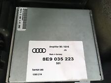 AUDI A4 B6 B7 ESTATE AVANT 2000-08 REAR BOOT SOUND AMP AMPLIFIER UNIT 8E9035223