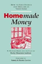 Homemade Money : How to Save Energy and Dollars in Your Home by Richard Heede...