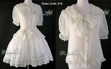Gothic Sweet Lolita Ruffled Dress 818 chiffon (Boleros/ Blouse / Shirt / Skirt)