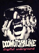 Doowutchyalike Digital Underground Do What You Like 90s Rap Hip Hop T Shirt XS/S