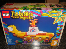 Lego Set 21306 The Beatles Yellow Submarine New Factory Sealed Lego Ideas